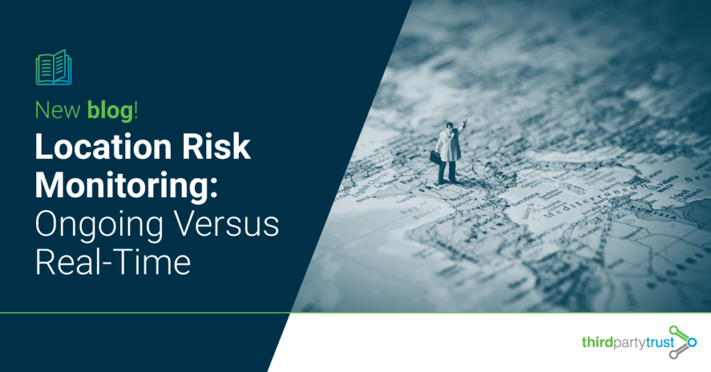 Location Risk Monitoring: Ongoing versus real-time